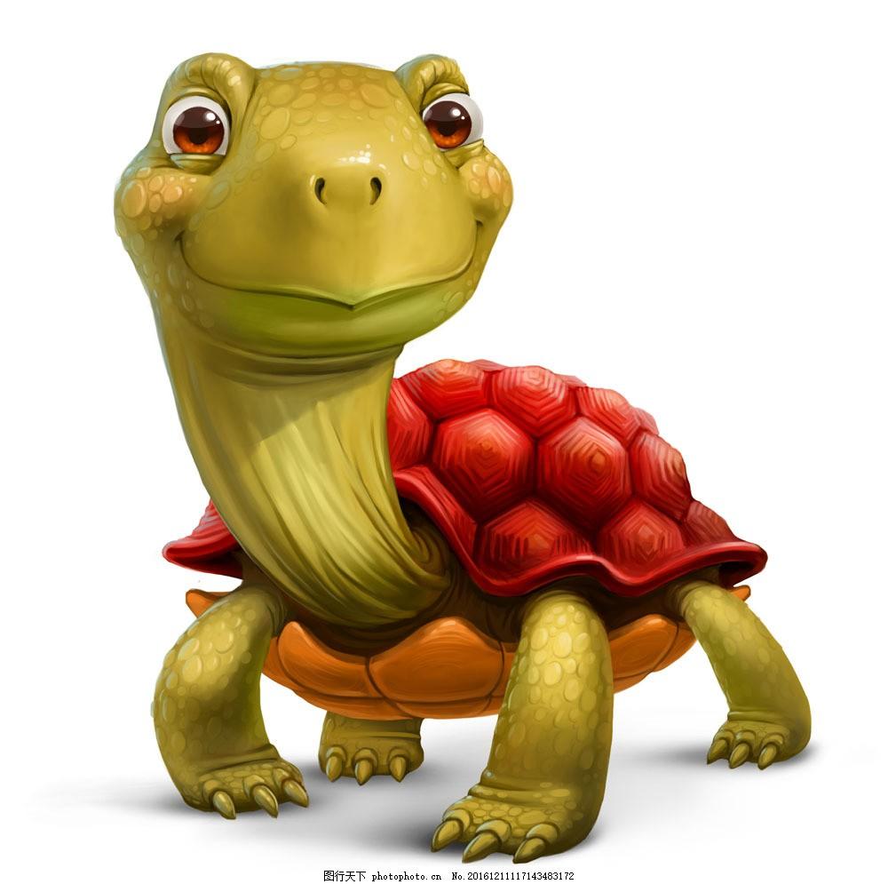 立体彩色乌龟 立体彩色乌龟图片素材 立体动物 陆地动物 动物世界