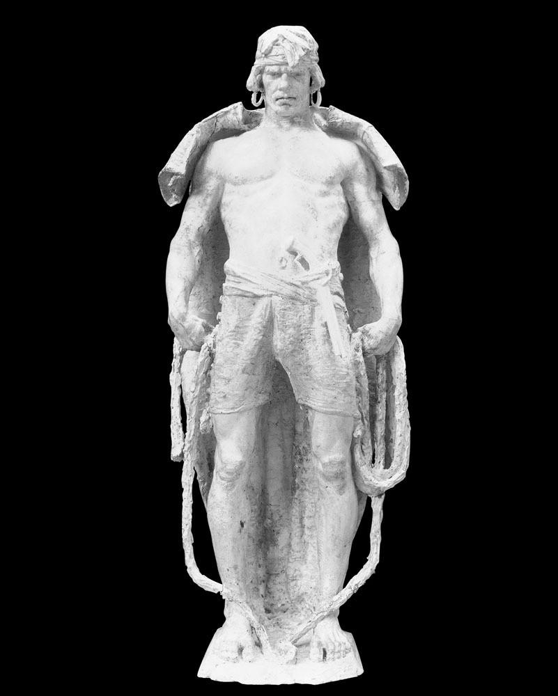 外国人物雕像 外国人物雕像图片素材 欧式建筑 建筑物 古典建筑