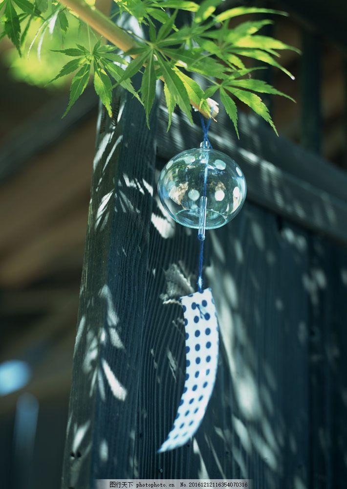 日本风铃摄影 日本风铃摄影图片素材 日本夏天 传统文化 日本文化