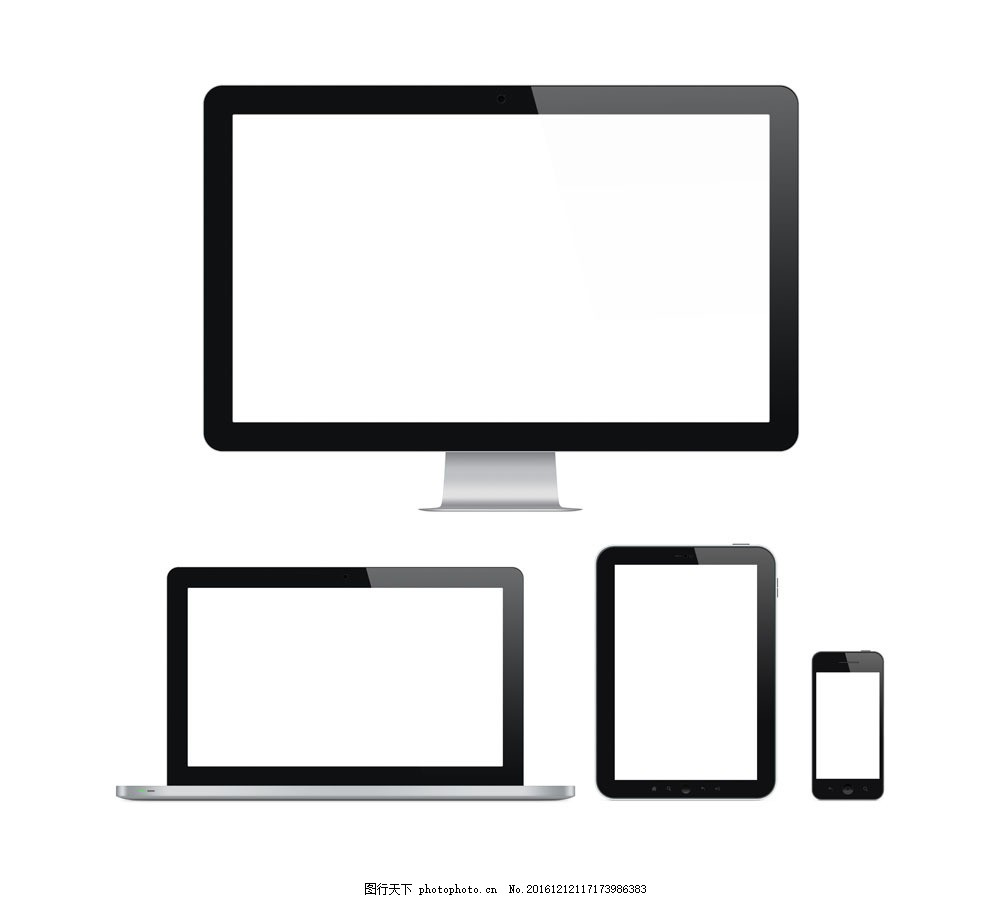 数码产品vi设计 显示器 笔记本 平板电脑 手机 数码科技 电脑数码