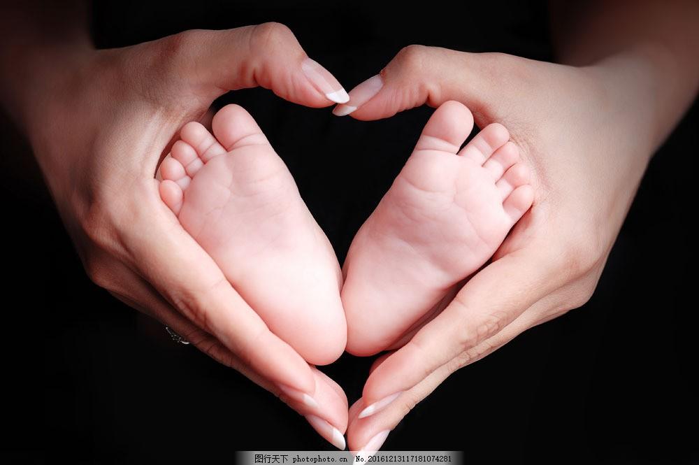 小脚丫与做爱心的手图片