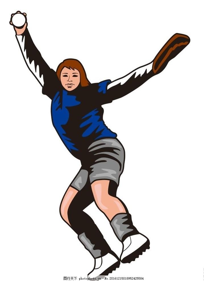 滑雪 打雪仗 插画 装饰画 简笔画 线条 线描 简画 黑白画 卡通 手绘