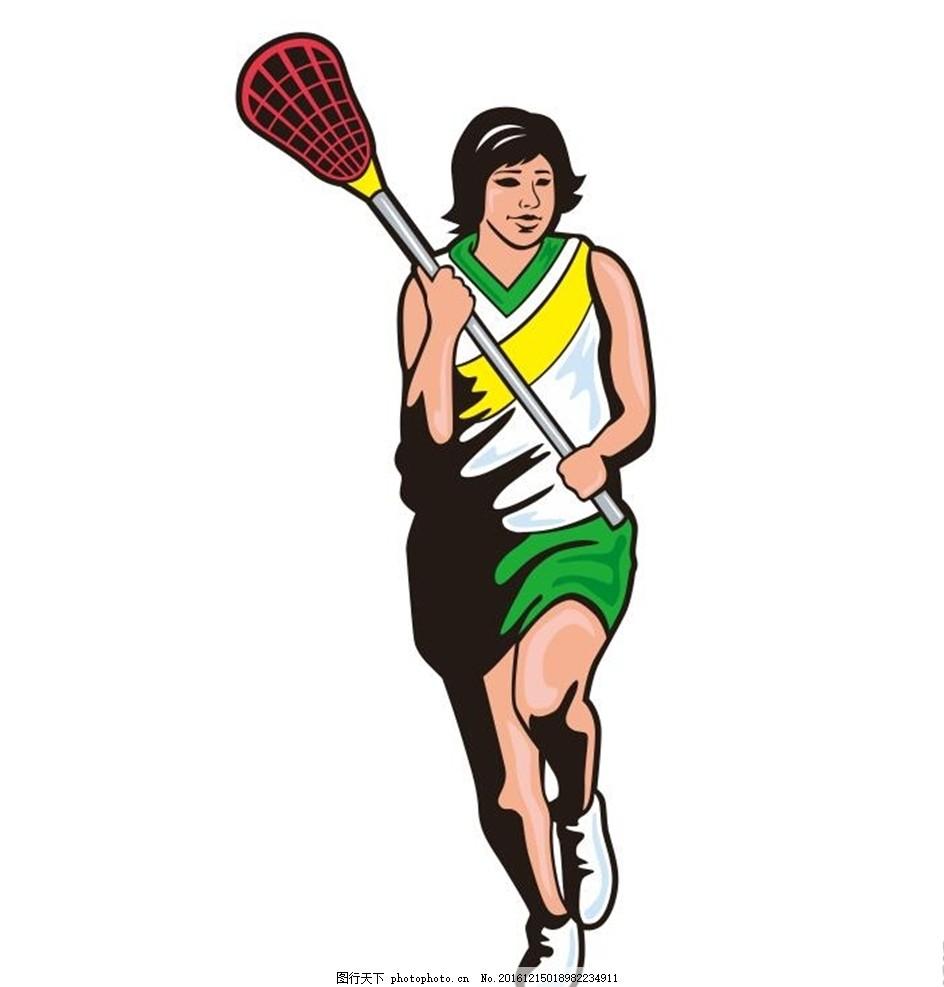 网球 运动 人物运动 插画 装饰画 简笔画 线条 线描 简画 黑白画 卡通