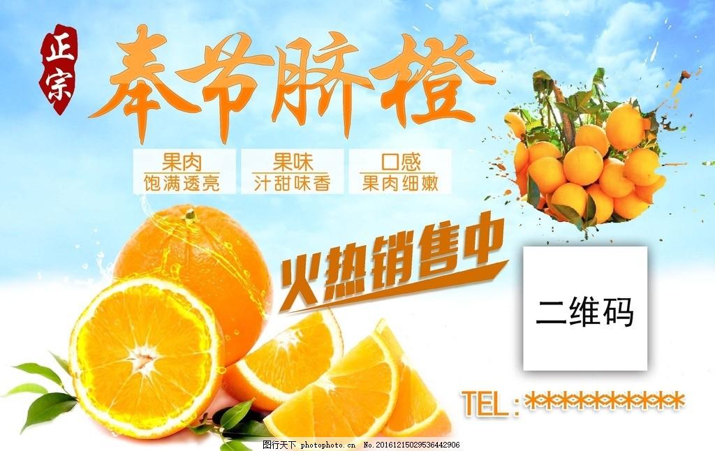 橙分期手绘宣传海报