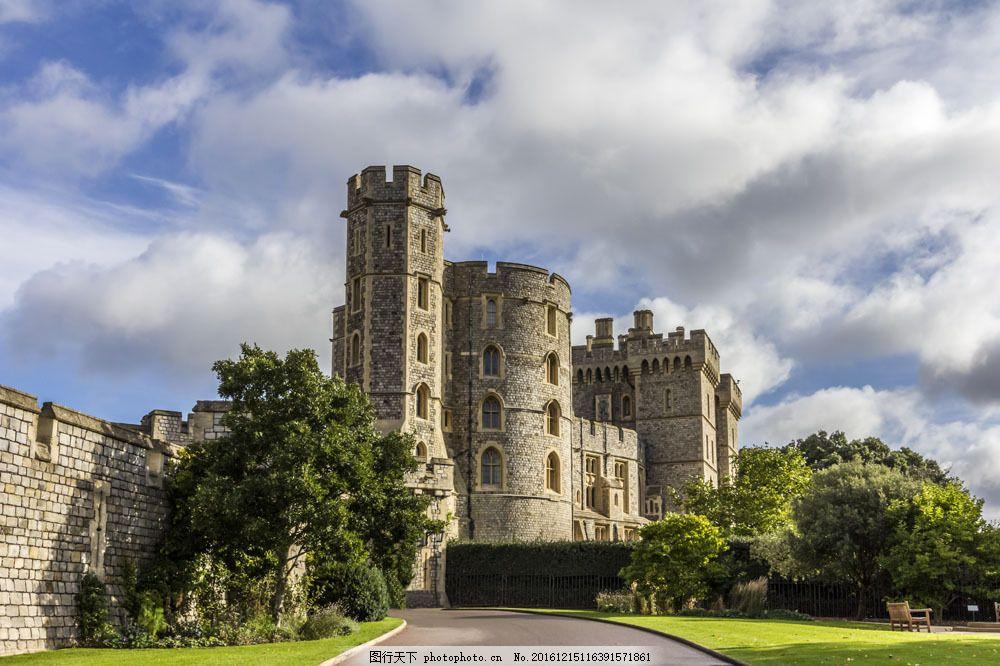 美丽城堡庄园 美丽城堡庄园图片素材 古堡 城堡建筑 古典建筑 古代