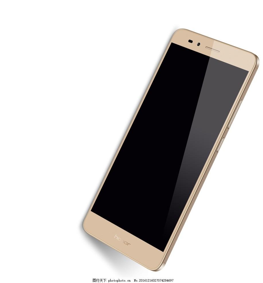 暗金色华为荣耀手机