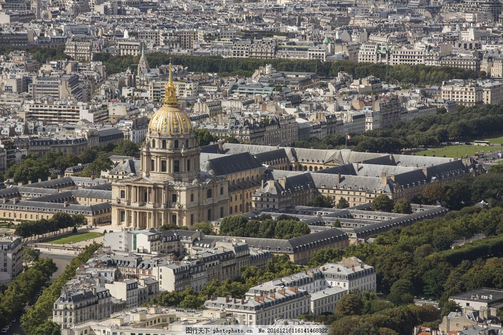 巴黎城市建筑风景图片