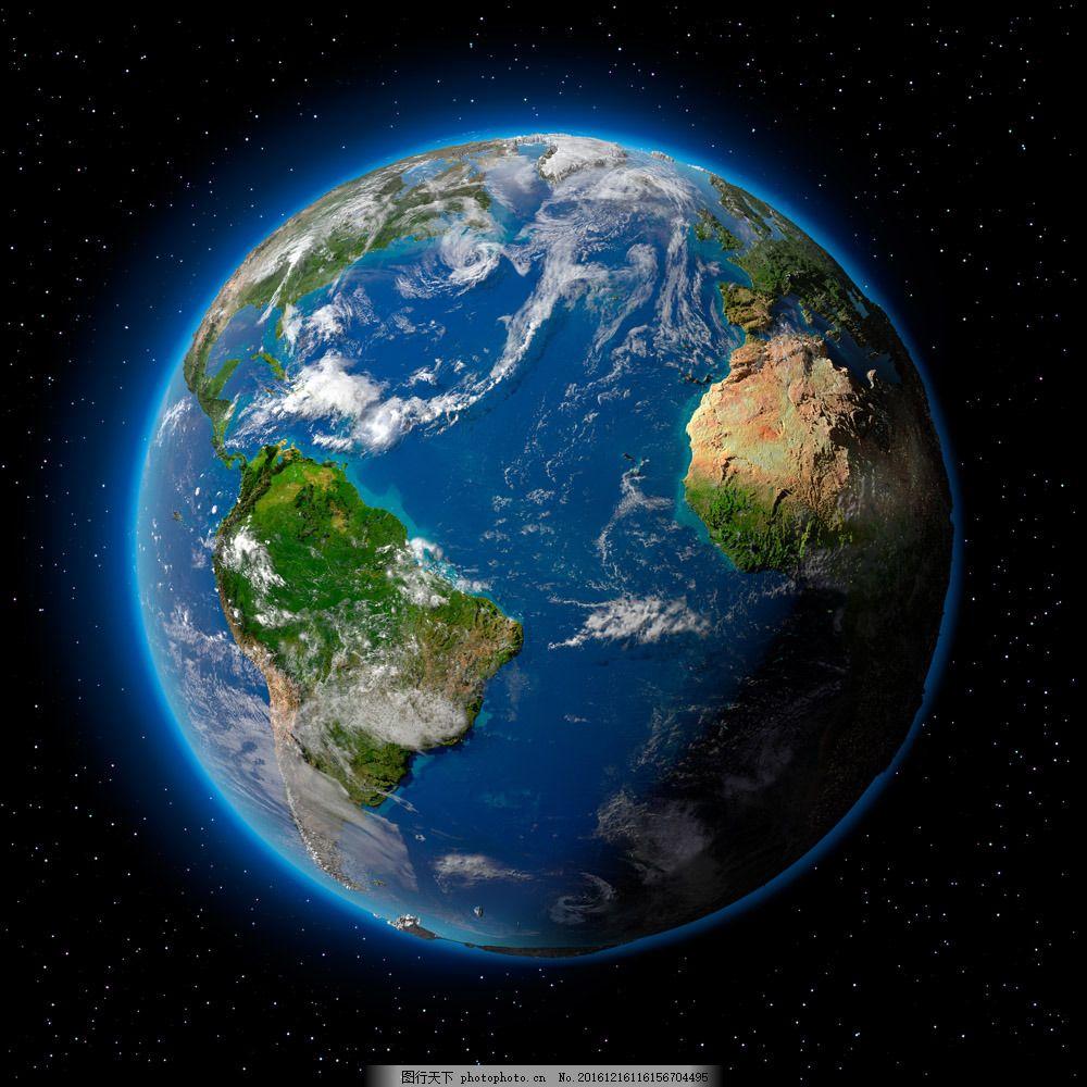 星空中的地球 星空中的地球图片素材 星球 地图 地球素材 创意地球