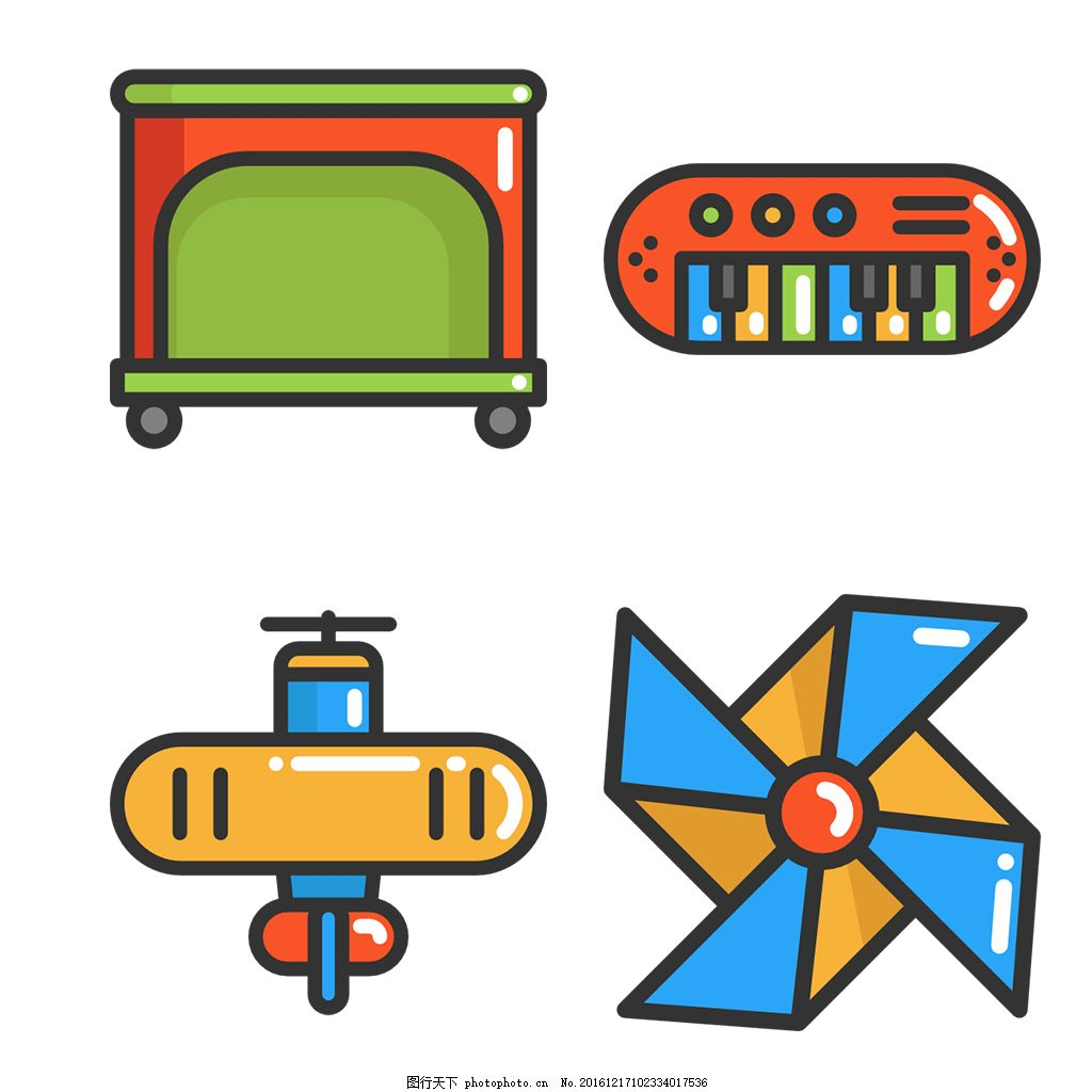 精美婴儿用品icon图标
