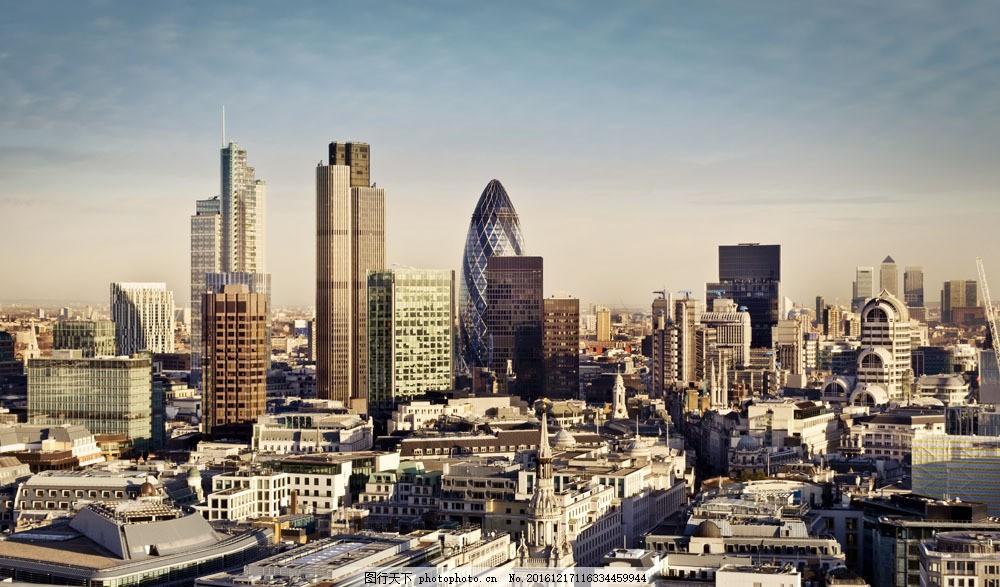 英国风景摄影图片素材 伦敦街道 伦敦风景 城市高楼 建筑 英国风景