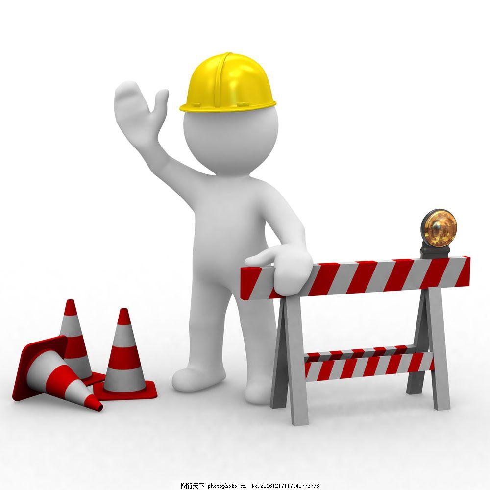 建筑工人图片素材 建筑工人 3d人物 3d小人 建筑人物 工地人物 工人