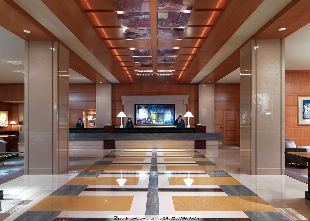 波士顿文华东方酒店 酒店大堂 接待中心 前台 服务台 豪华酒店
