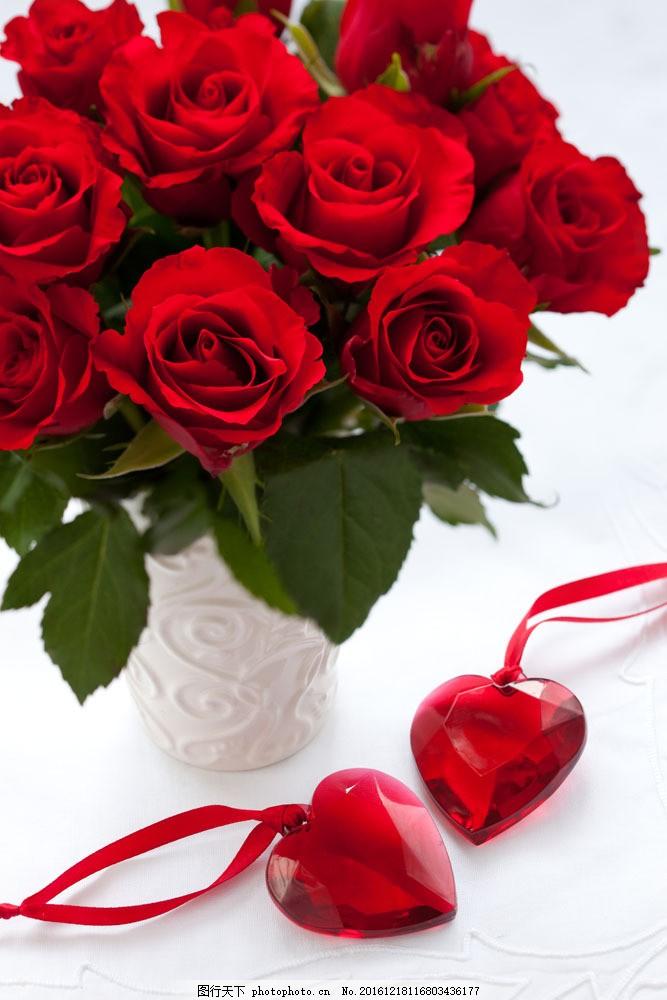 玫瑰花图片素材 植物 鲜花 玫瑰花 红色玫瑰花 爱情 火热 爱心 花束