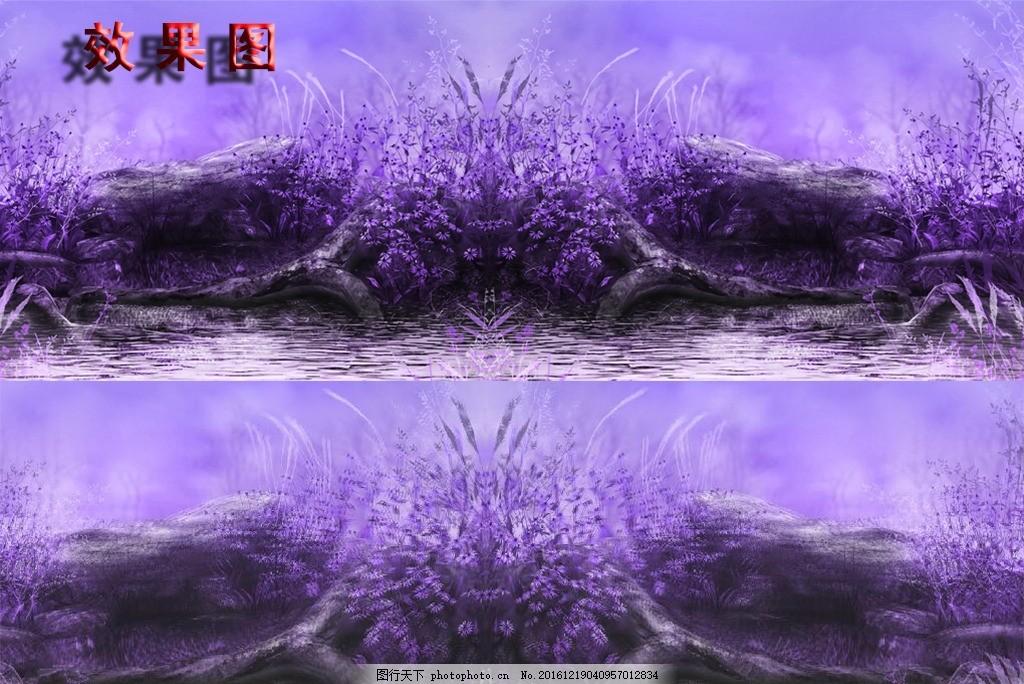 紫色淡雅 唯美背景 紫色淡雅视频 紫色背景素材 风景 自然风景 紫色