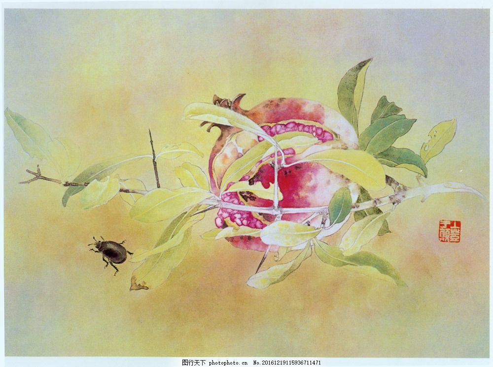 植物与动物插画图片素材 国画 油画 插画 手绘 素描 装饰画 无框画