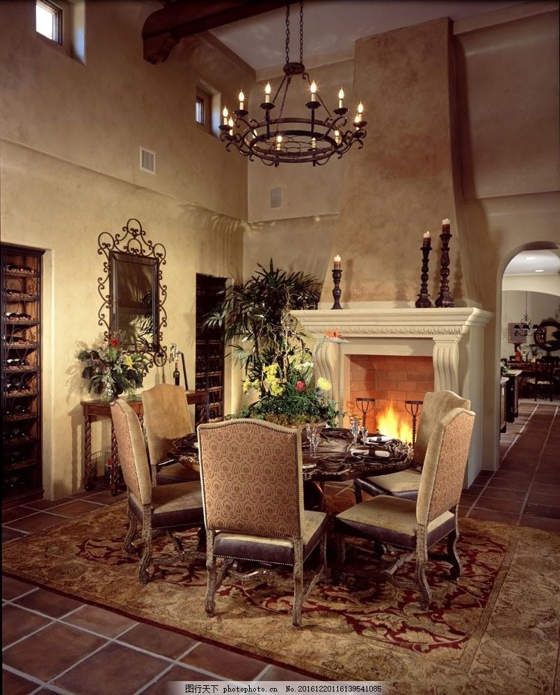 豪华餐厅设计 豪华餐厅设计图片素材 室内装潢 装潢设计 餐厅效果图