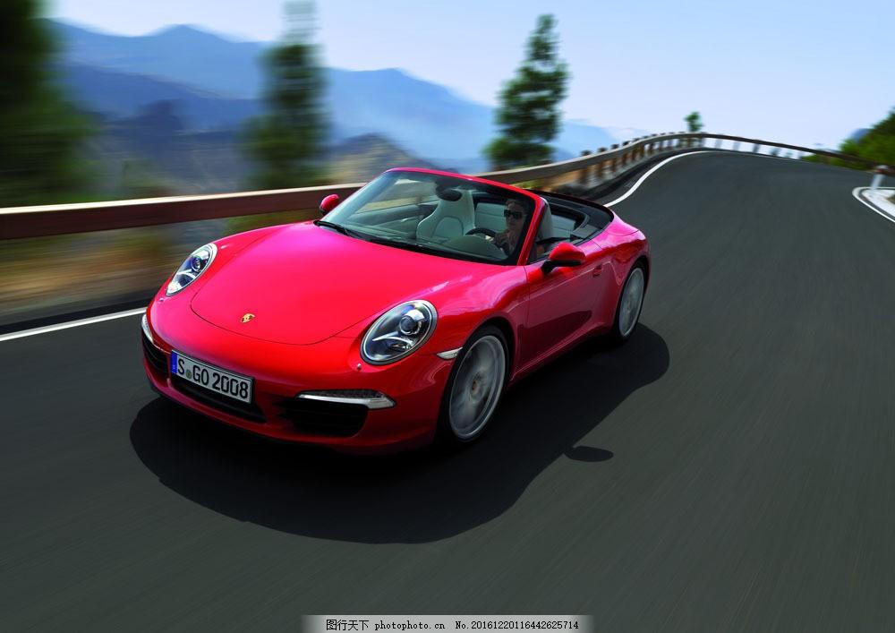 红色跑车 红色跑车图片素材 轿车 汽车 汽车摄影 汽车素材 高档汽车