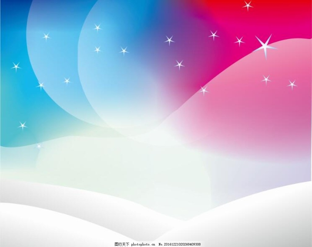 梦幻背景 唯美背景 圣诞 底纹 贺卡背景 星空 雪地 卡通图片