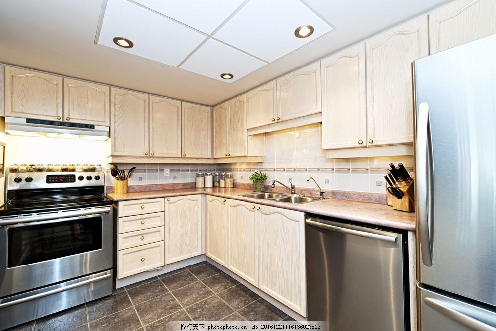 创意厨房装修设计图片素材 室内装饰设计 室内设计效果图