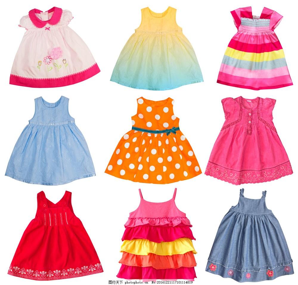 童装裙子摄影图片图片