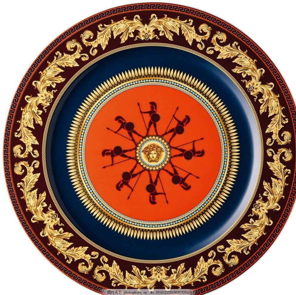 圆形古典花纹 图案 欧式花纹 复古图案 中式花纹 传统纹饰 雕刻印刷