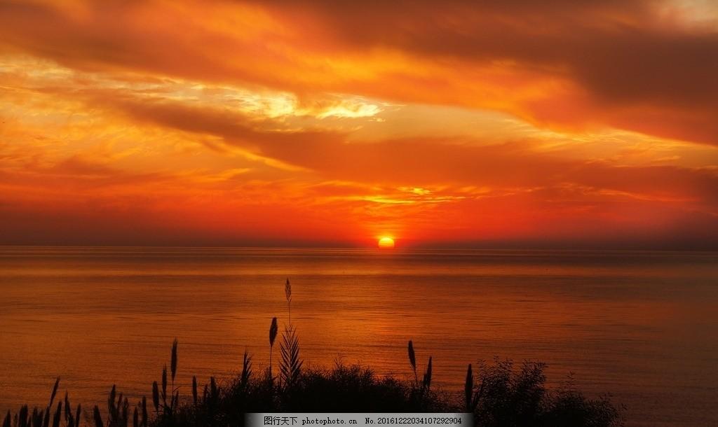 天 天空 蓝天 风景 风光 自然 日出 海边 海 大海 礁石 岩石 唯美