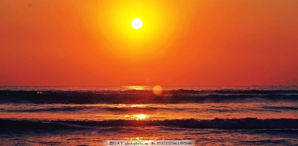 晚霞 天 天空 蓝天 风景 风光 自然 日出 海边 海 大海 礁石 岩石