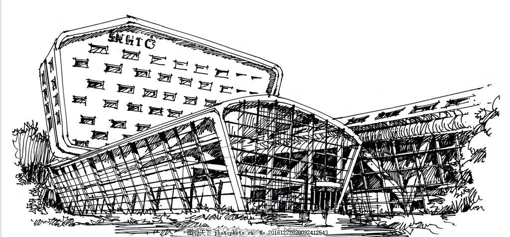 大禹手绘建筑手绘图