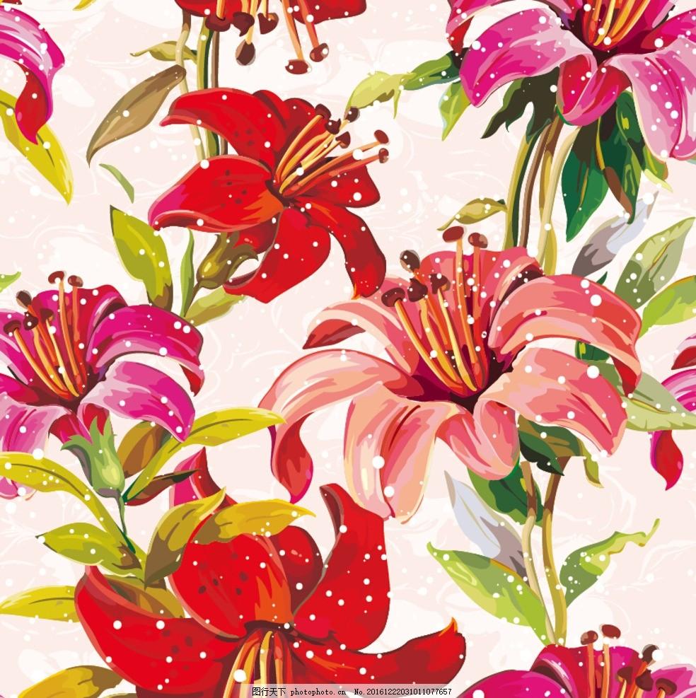 手绘线条花 鼠绘线条花 花线条 花经脉 彩绘花 欧式手绘花 欧式花设计