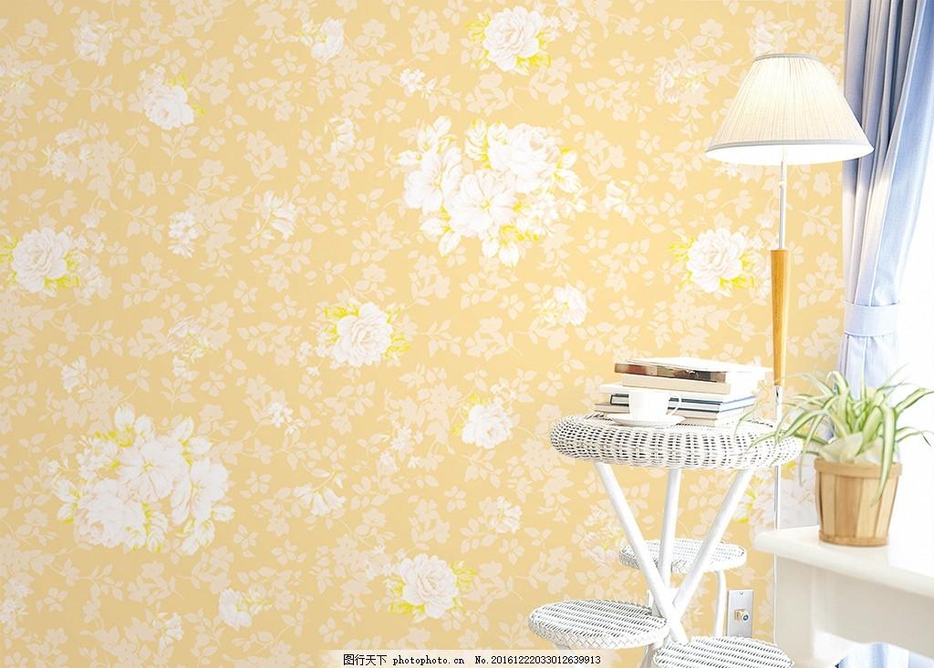 手绘牡丹花墙纸壁纸背景墙 欧式花纹 欧式花朵 花边花纹 大理石纹