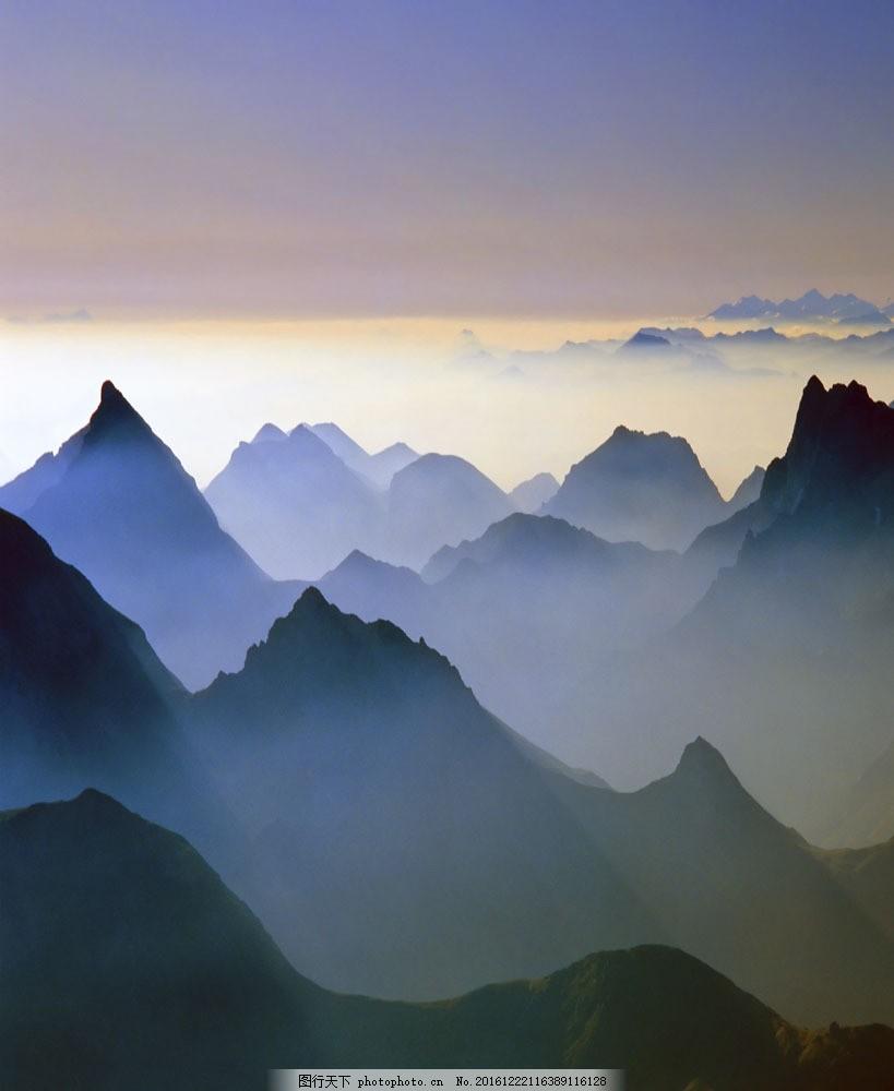 高山风景016图片素材 山景 山峰 山 山峦 高山风景 美丽风景 自然风景