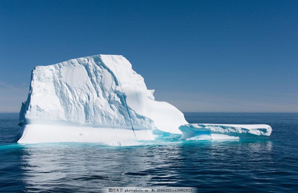 冰川风景 冰川风景图片素材 浮冰 冰山 冰山风景 北极冰川 南极冰川