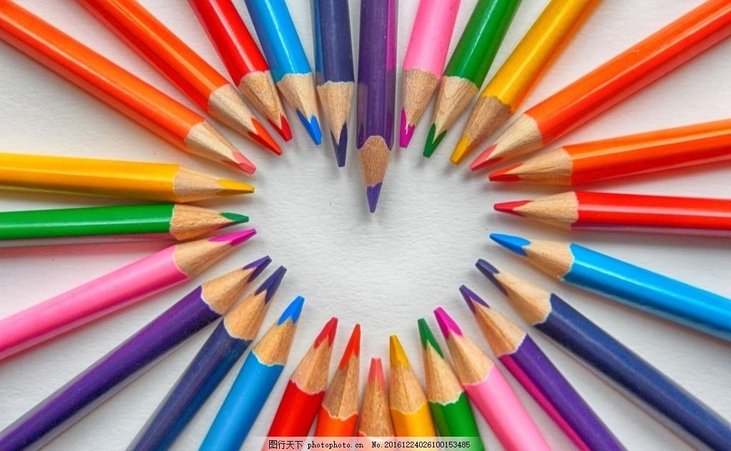 铅笔丹顶鹤图片