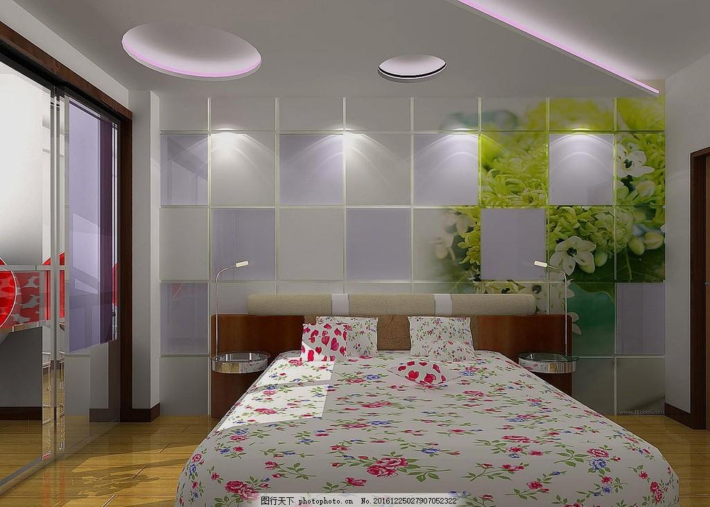 女孩子卧室房间设计图