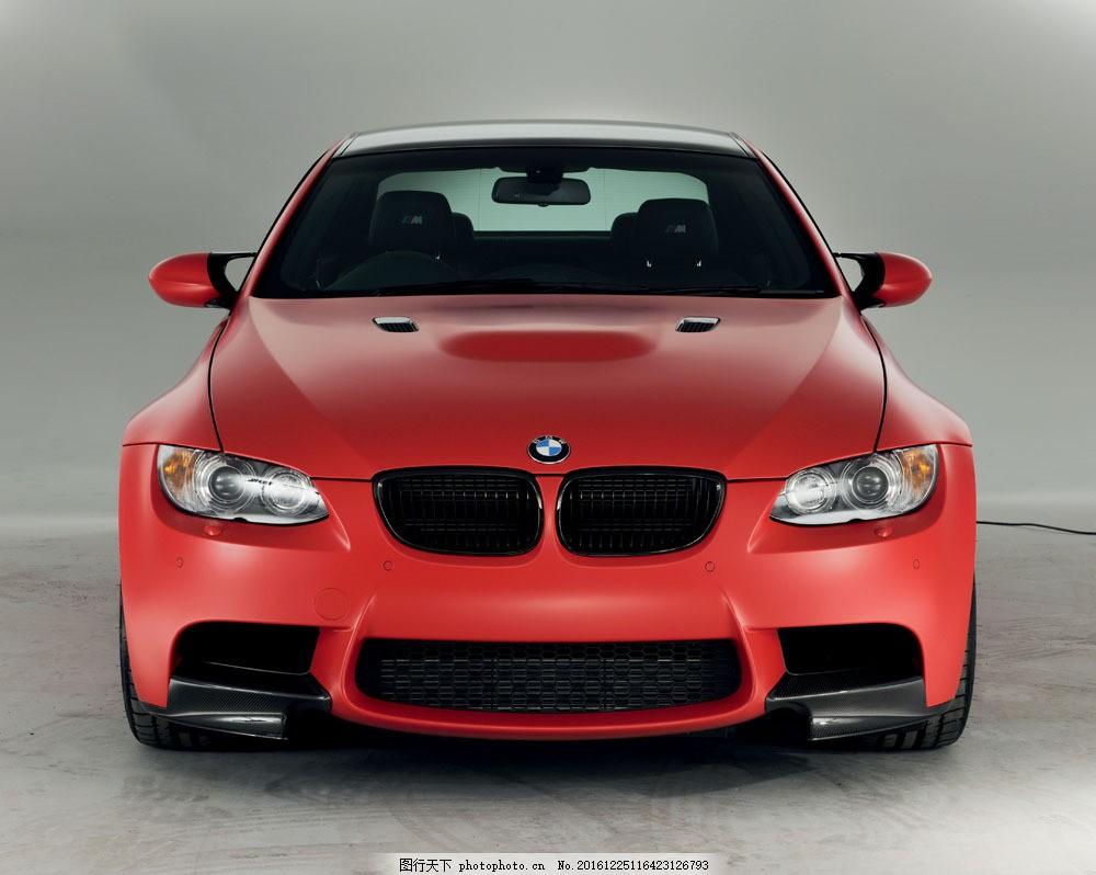 红色宝马汽车图片素材 轿车 汽车 汽车摄影 汽车素材 高档汽车 品牌汽