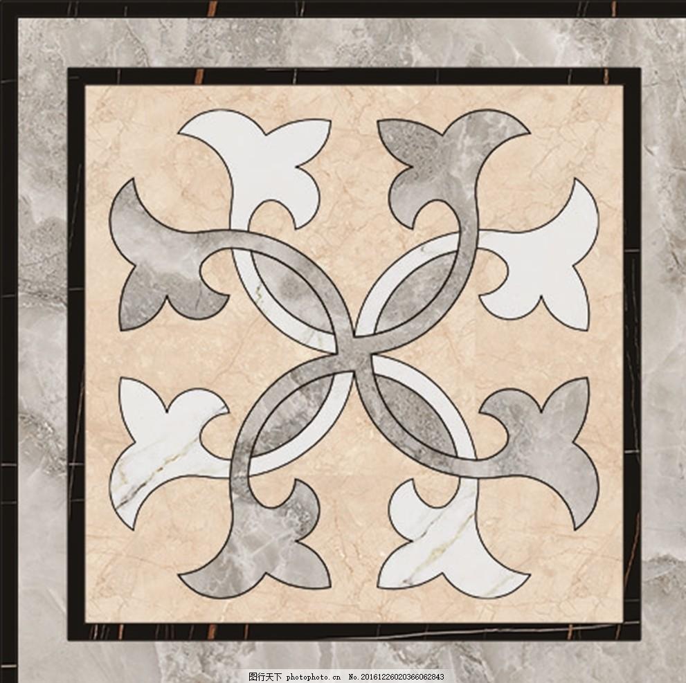 玄关地拼 拼花 花 地毯花纹 家装 地面拼花 拼花花纹 石材拼图 欧式
