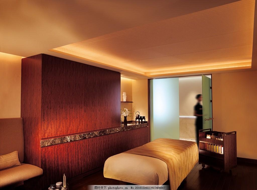 东京半岛酒店 水疗中心 理疗室 香薰蒸气浴室 桑拿室 淋浴间 冷水浴池