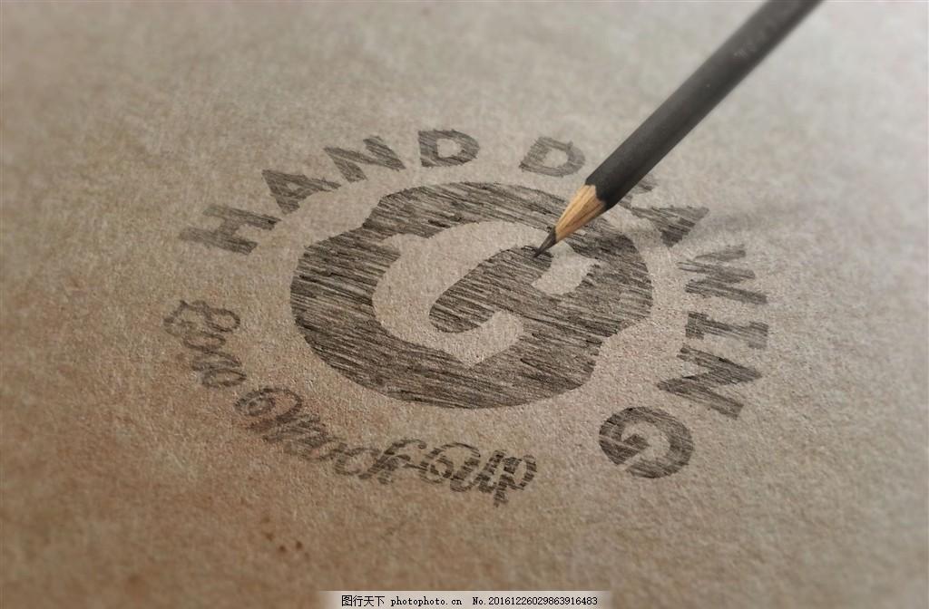 logo样机 层素材 标志设计 商标设计 贴图