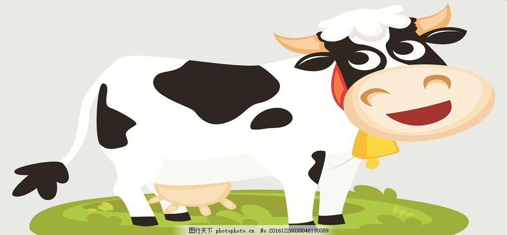 奶牛形象相片 奶牛 母牛 卡通形象 超市卖场 可爱卡通 创意奶牛 广告