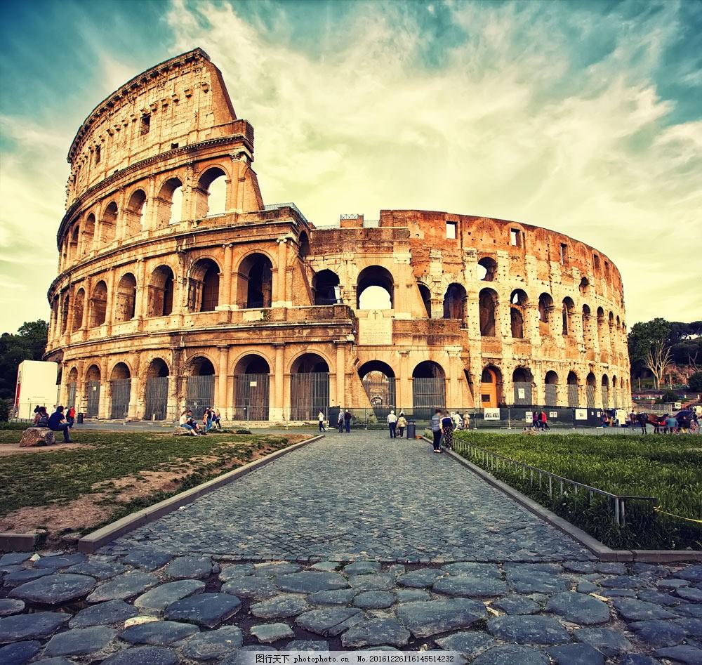 罗马著名建筑图片素材 罗马城市 罗马风景 城市风景 欧式建筑 罗马