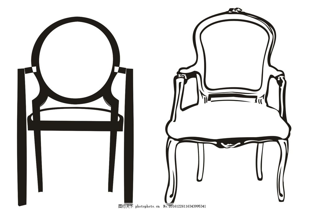 椅子纹样 底纹 花纹 矢量纹样 矢量椅子 欧式椅子 底纹边框 条纹线条