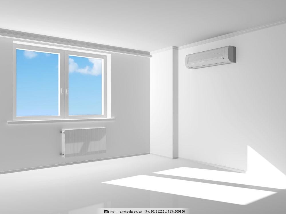 室内的空调挂机图片