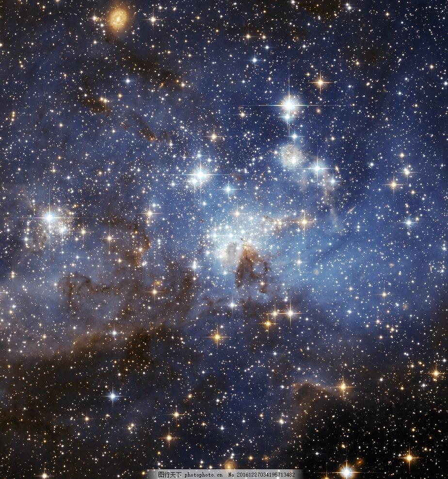 夜空 星星 月亮 白云 夜晚 晚上 蓝天白云 蓝天 天空 晴天 美景 星空图片