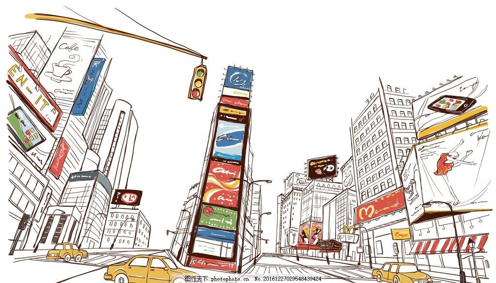绘画书法 建筑园林 手绘风景 建筑 城市建筑 建筑家居 手绘城市海报