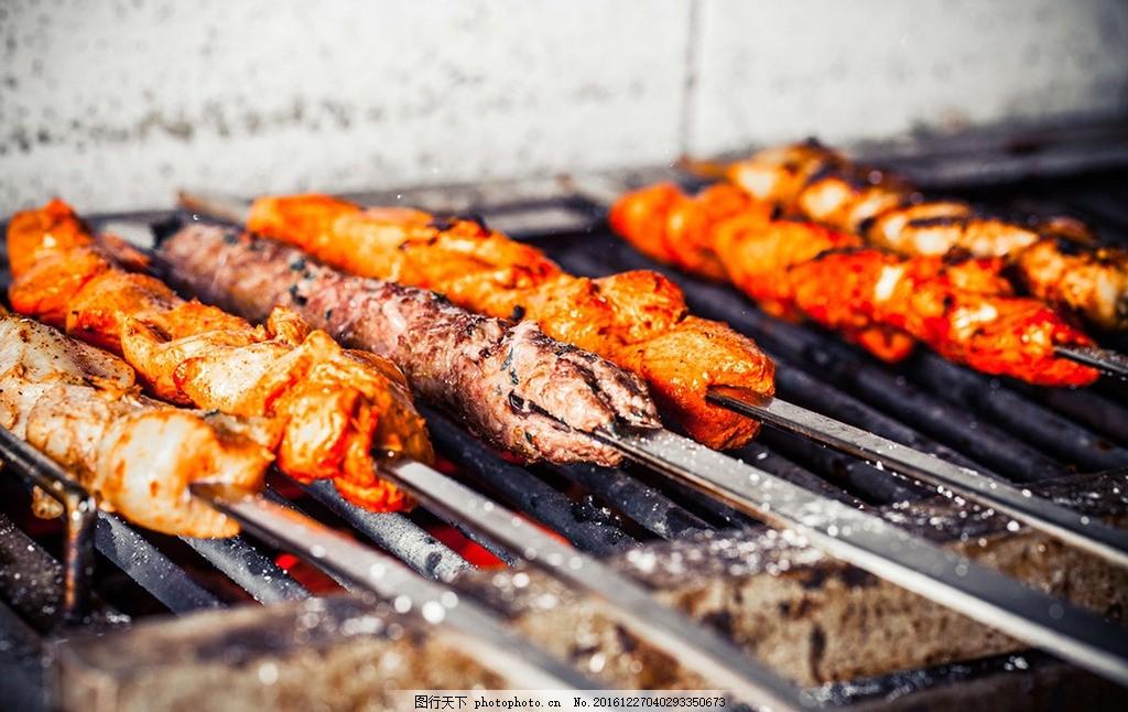 烤串 烧烤 烤肉 美味 美食 可口 餐饮 摄影