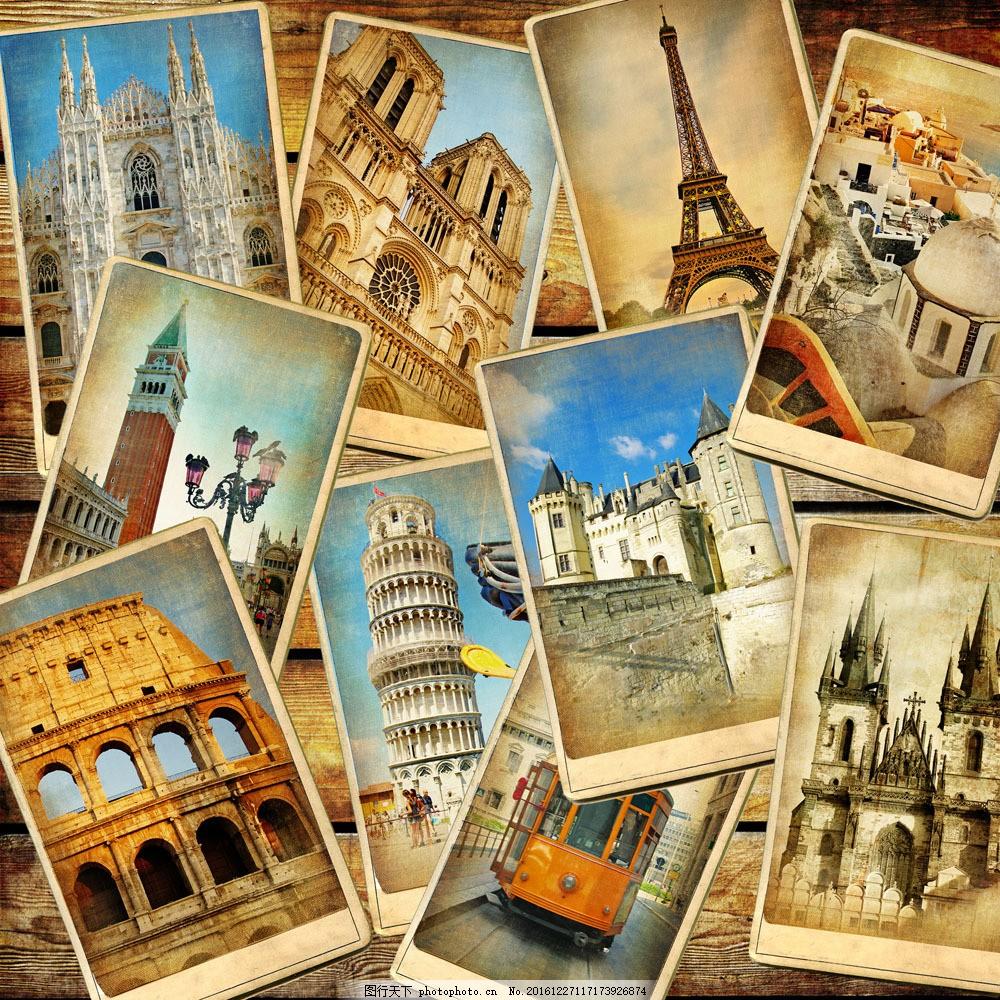 欧洲建筑风景照片图片