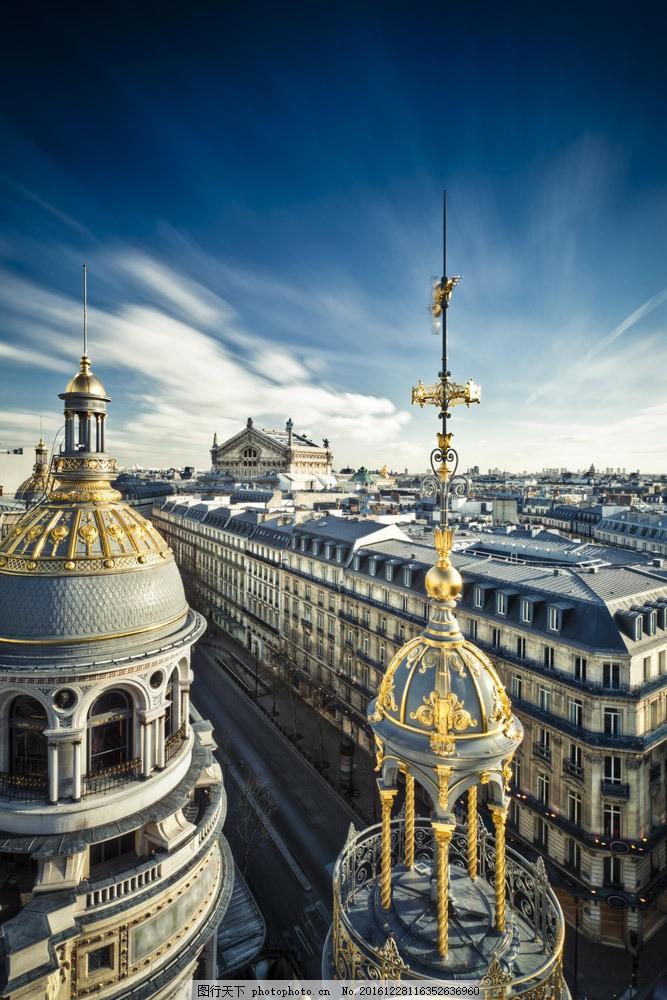 法国巴黎复古建筑风景图片素材 建筑风光 城市图片 法国建筑 巴黎风光