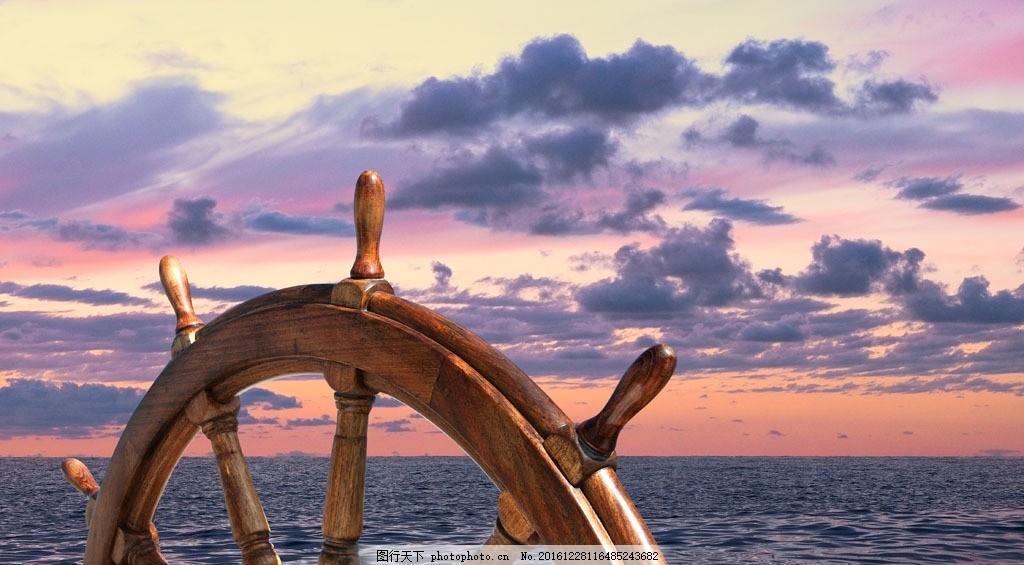 转舵 扬帆起航 船只 轮船 航行 航海 大海风景 海面风景 轮船图片