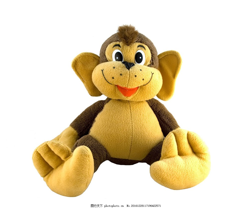 毛绒玩具图片素材 毛绒玩具 布偶 可爱 布娃娃 猴子 其他类别 生活
