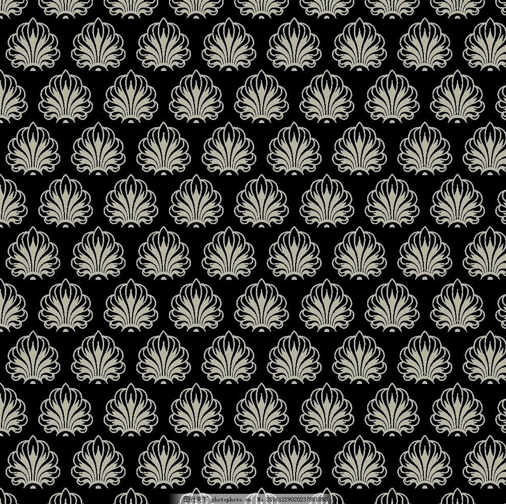 背景底纹 矢量花纹 硅藻泥 移门花纹 硅藻泥背景墙 欧式 欧花
